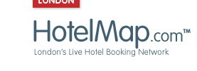Waterloo Tube Station Hotel - HotelMap.com Logo